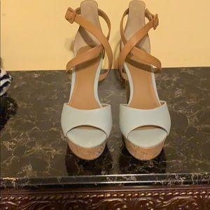 Light Blue Guess Shoes
